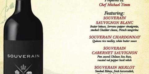 Souverain Wine Dinner